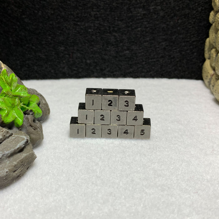 Set of 12 Micro d6 Dice