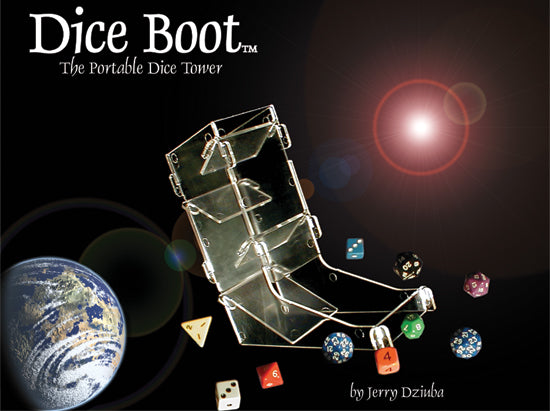 Dice Boot™ Acrylic Dice Tower