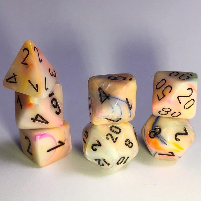 Festive Circus Polyhedral RPG Dice Set