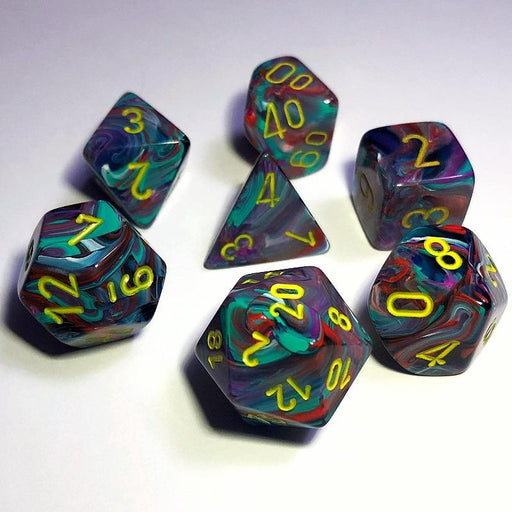 Chessex Festive Mosaic Dice Set