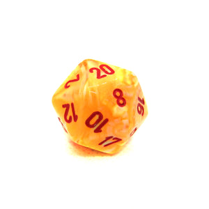Festive Sunburst Dice Bulk Pieces