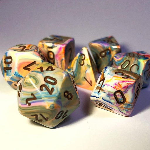 Chessex Festive Vibrant Dice Set