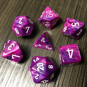 Chessex Festive Violet Dice Set