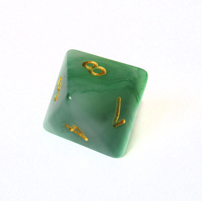 Green Jade Dice Bulk Pieces