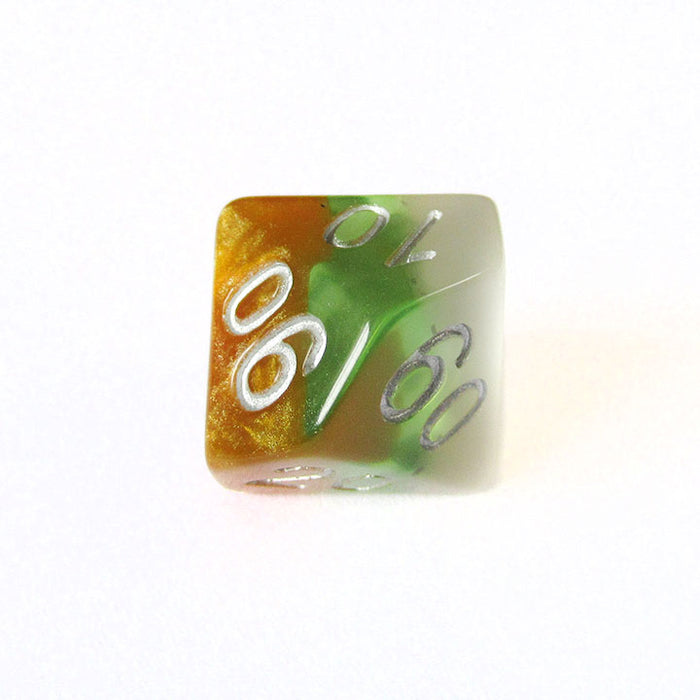 Kiwi Fruit Layered Dice Bulk Pieces