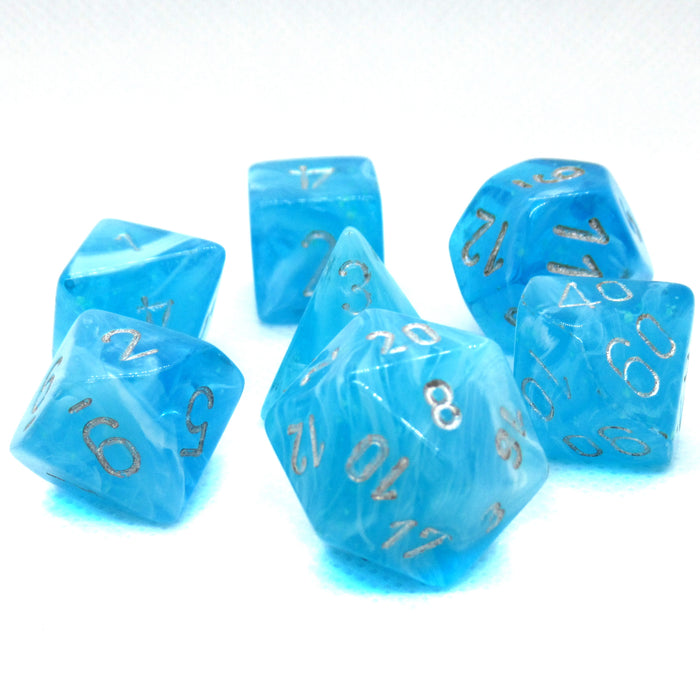 Luminary Sky Polyhedral RPG Dice Set