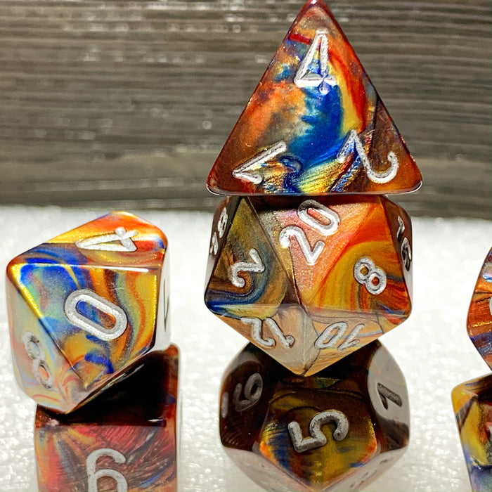 Lustrous Gold Polyhedral RPG Dice Set