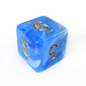 Midnight Sky Dice Bulk Pieces