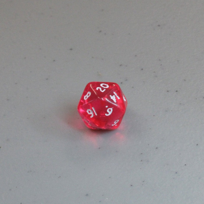 Translucent 10mm D20 Bulk Dice