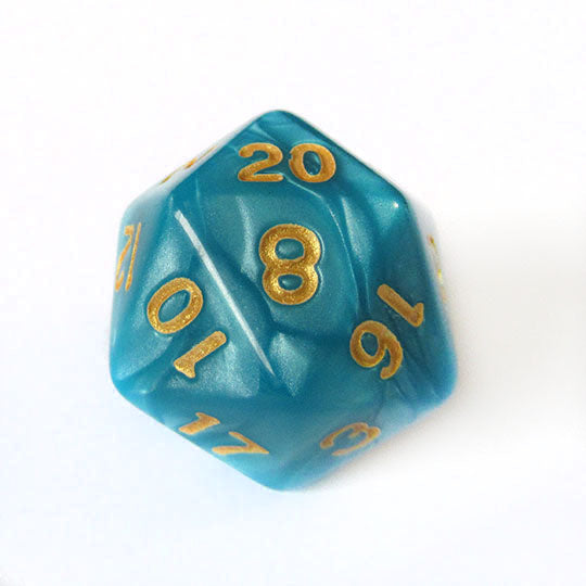 Blue Pearl Dice Bulk Pieces