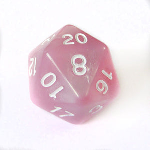 Pink Pearl Dice Bulk Pieces