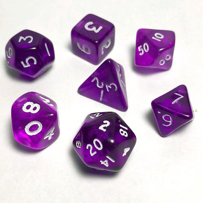 Purple 10mm Dice Set