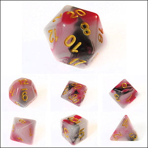 Eternity Rose Opalescent Jade Dice Bulk Pieces