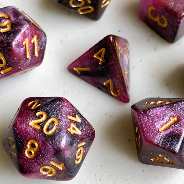 Scorpion's Sting Polyhedral RPG Dice Set