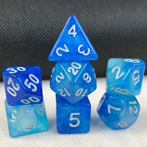Seascape Polyhedral RPG Dice Set