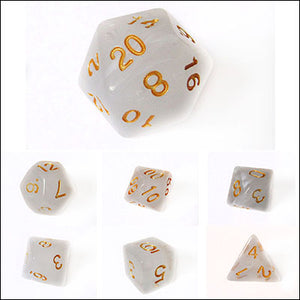 Silken Mist Dice Bulk Pieces