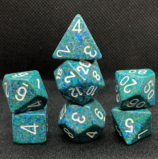 Chessex Speckled Sea Polyhedral Dice Set