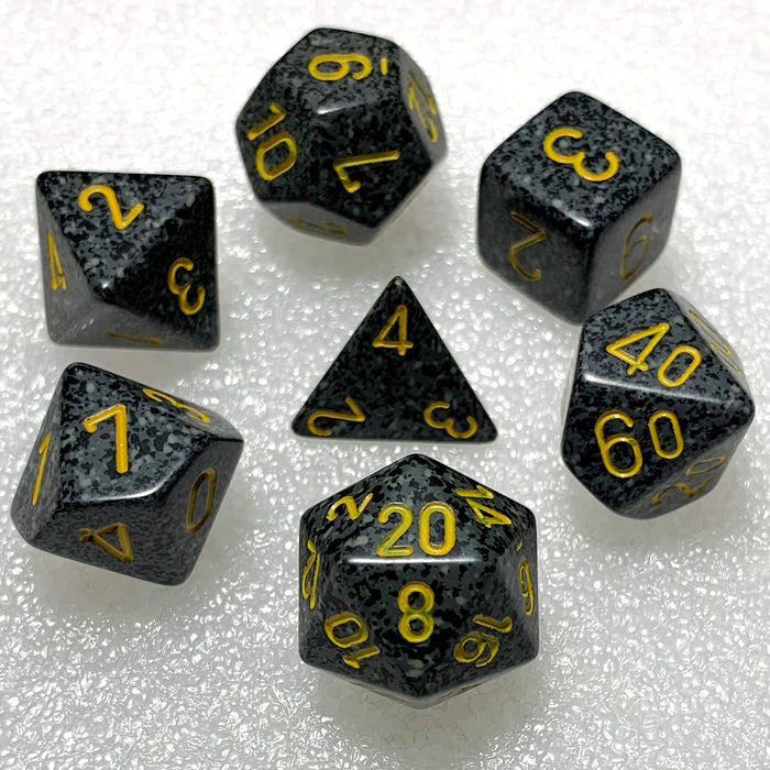 Speckled Urban Camo Polyhedral RPG Dice Set