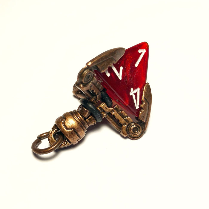 Copper Tekno Claw d4 Pendant
