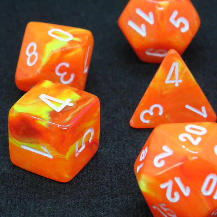 Vortex Solar Polyhedral RPG Dice Set