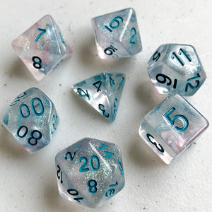 Winter Wonderland Polyhedral RPG Dice Set