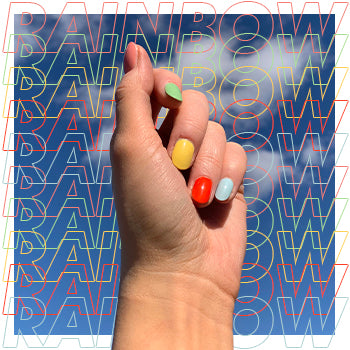 Lockdown Nailspo… Rainbow Nails