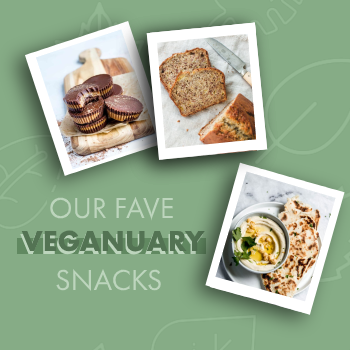 Our Fave Veganuary Snacks