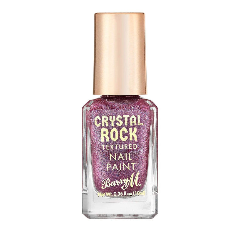 Crystal Rock Textured Nail Paint | Amethyst