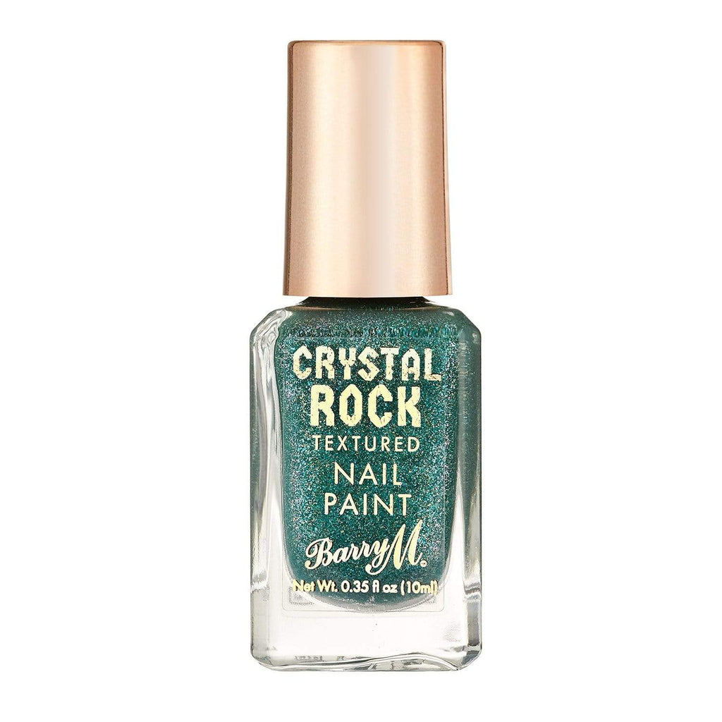 Crystal Rock Textured Nail Paint | Emerald Green