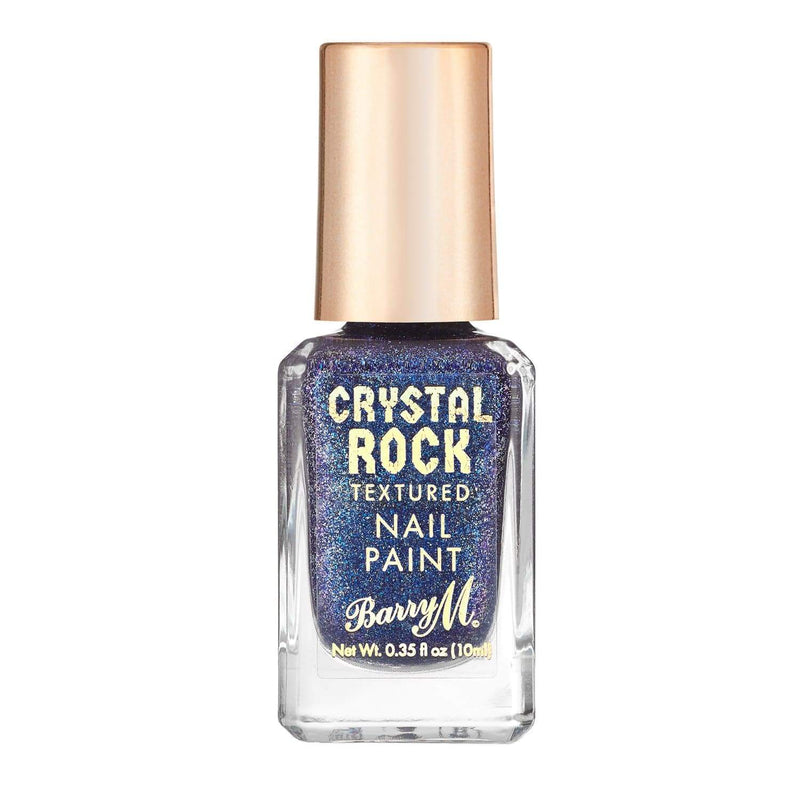 Crystal Rock Textured Nail Paint | Blue Sapphire