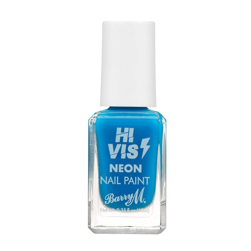 Barry M Hi Vis Nail Paint | Blue Shock