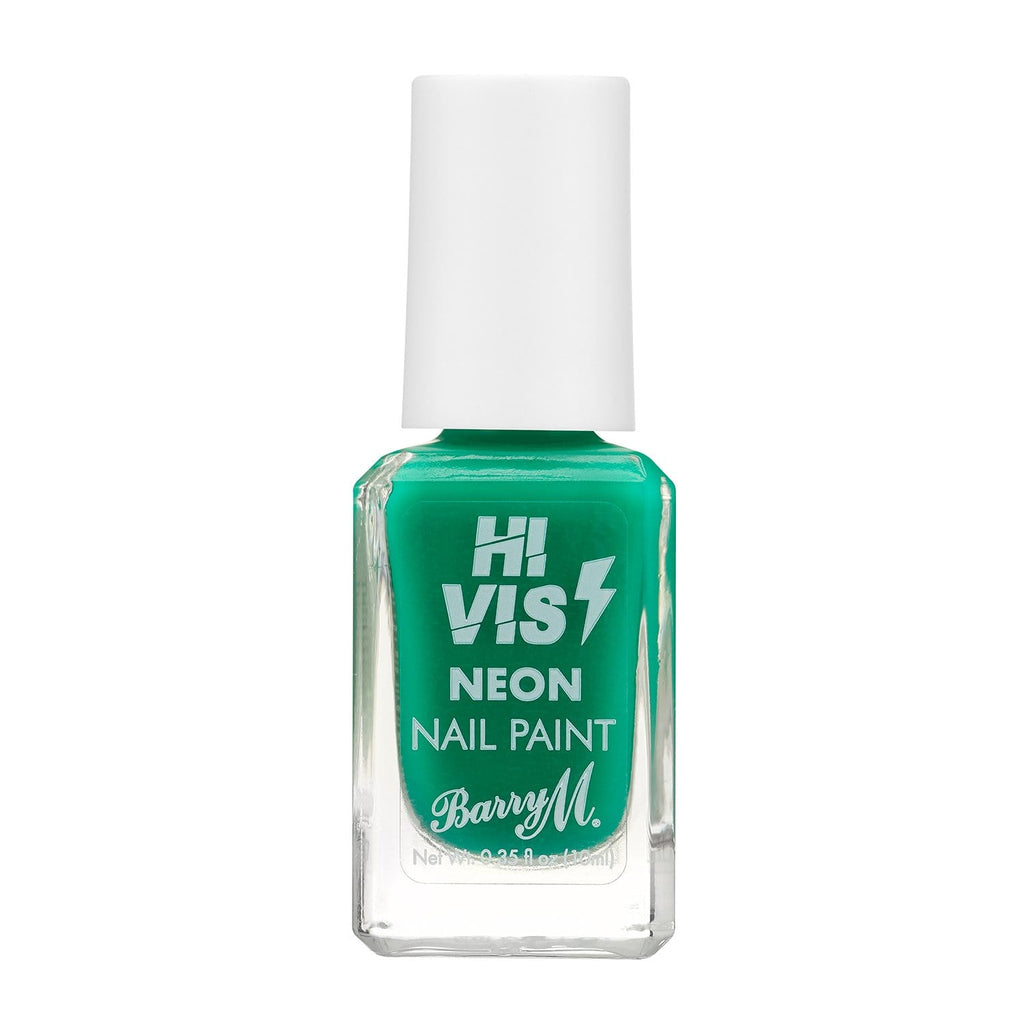 Barry M Hi Vis Nail Paint | Green Light