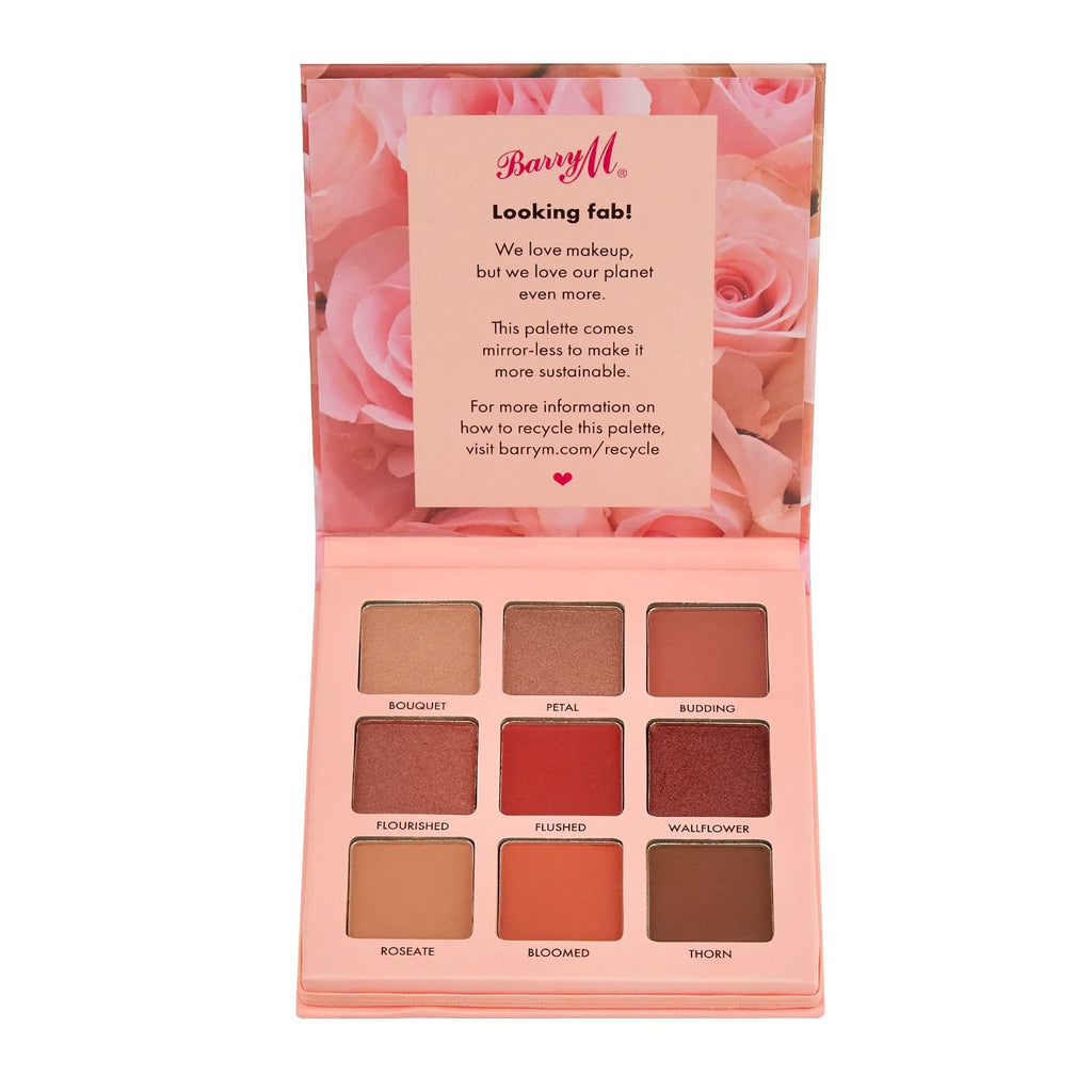 Barry M Rose Tinted Eyeshadow Palette