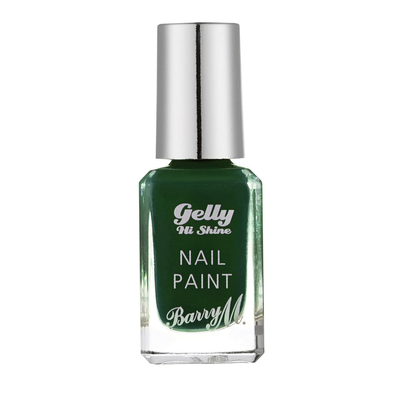 Gelly Hi Shine Nail Paint | Black Pistachio
