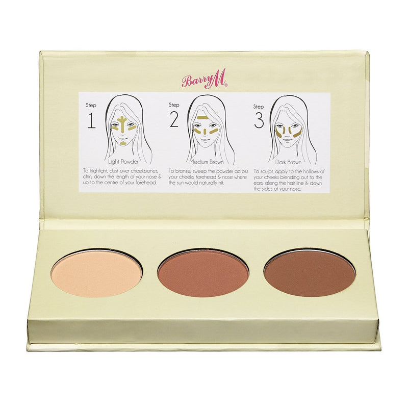 Chisel Cheeks Contour Kit | Light/Medium