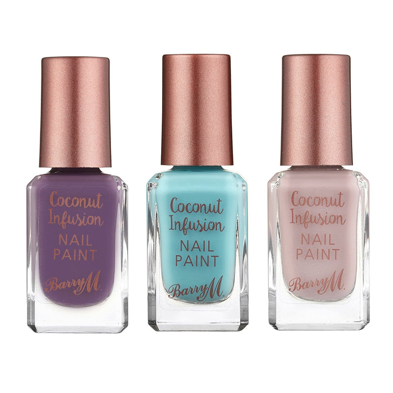 Barry M Coconut Nail Paint Bundle