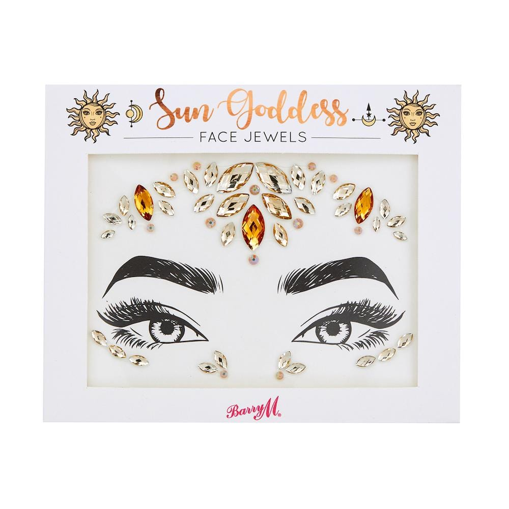 Face Jewels | Sun Goddess