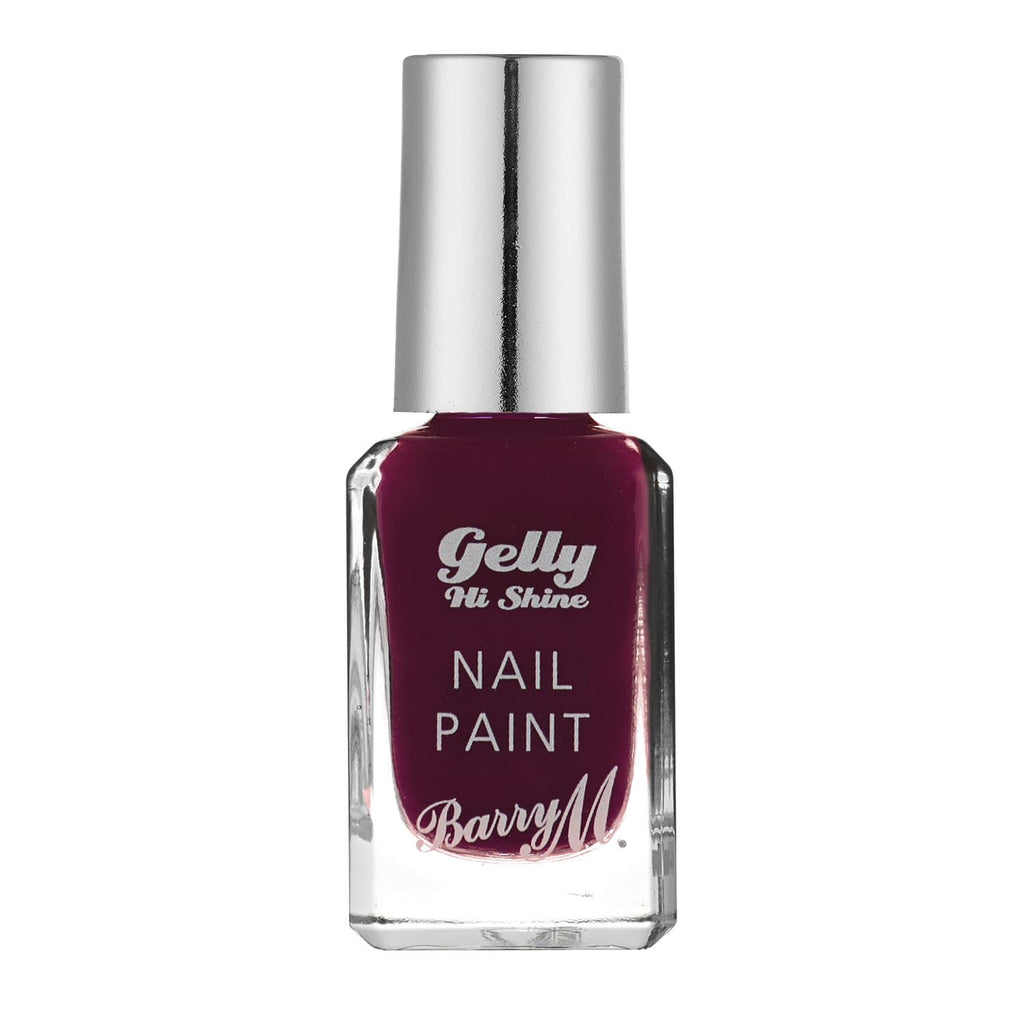 Gelly Hi Shine Nail Paint | Black Cherry