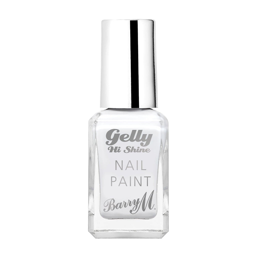 Gelly Hi Shine Nail Paint | Cotton White, Nail Paint,GNP35