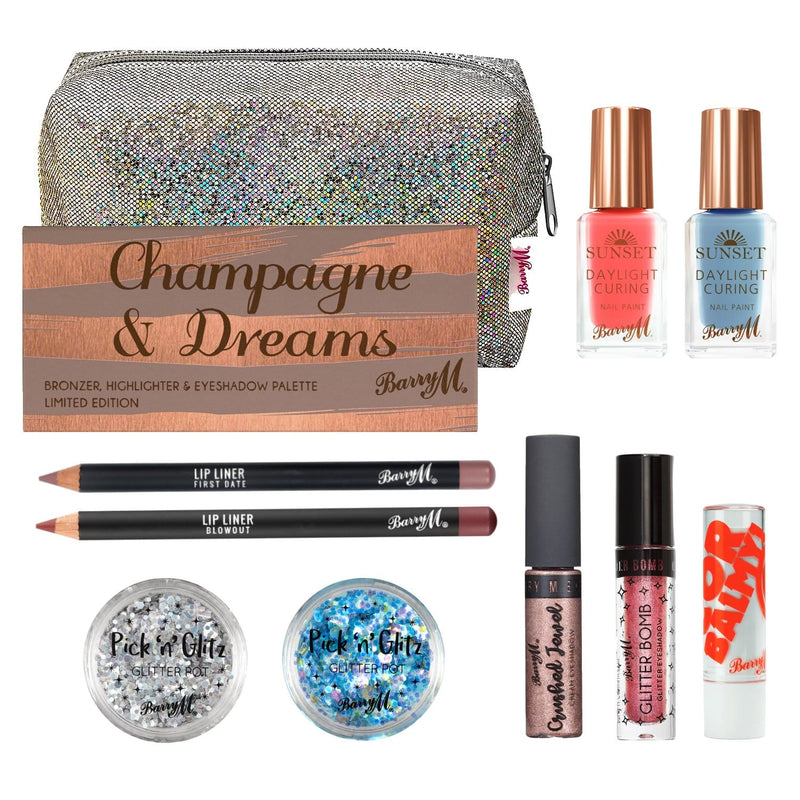 Glitzy Makeup Goody Bag, Bundle,OB16