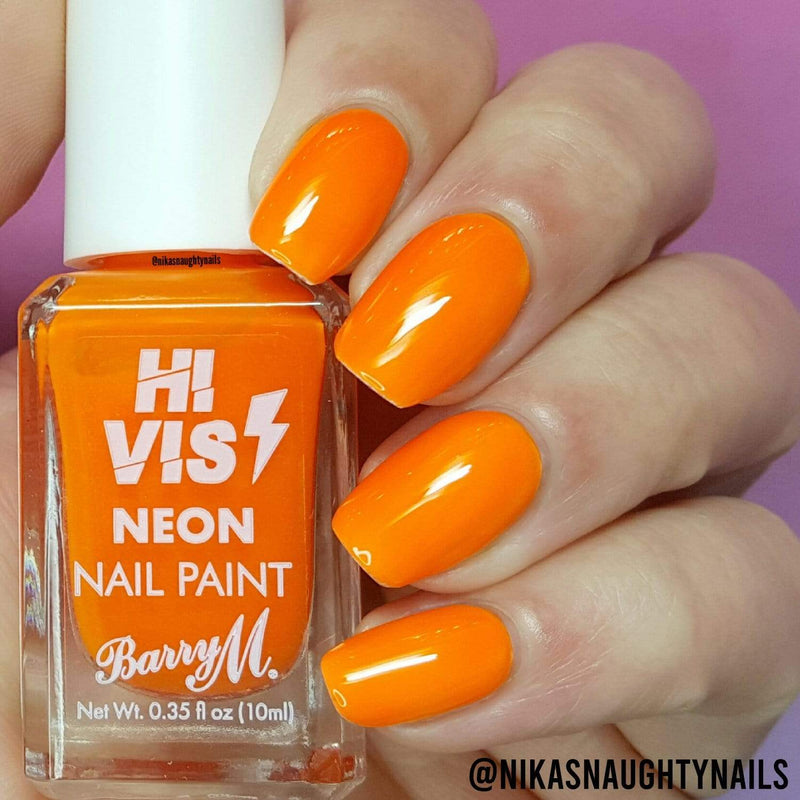 Hi Vis Neon Nail Paint | Outrageous Orange