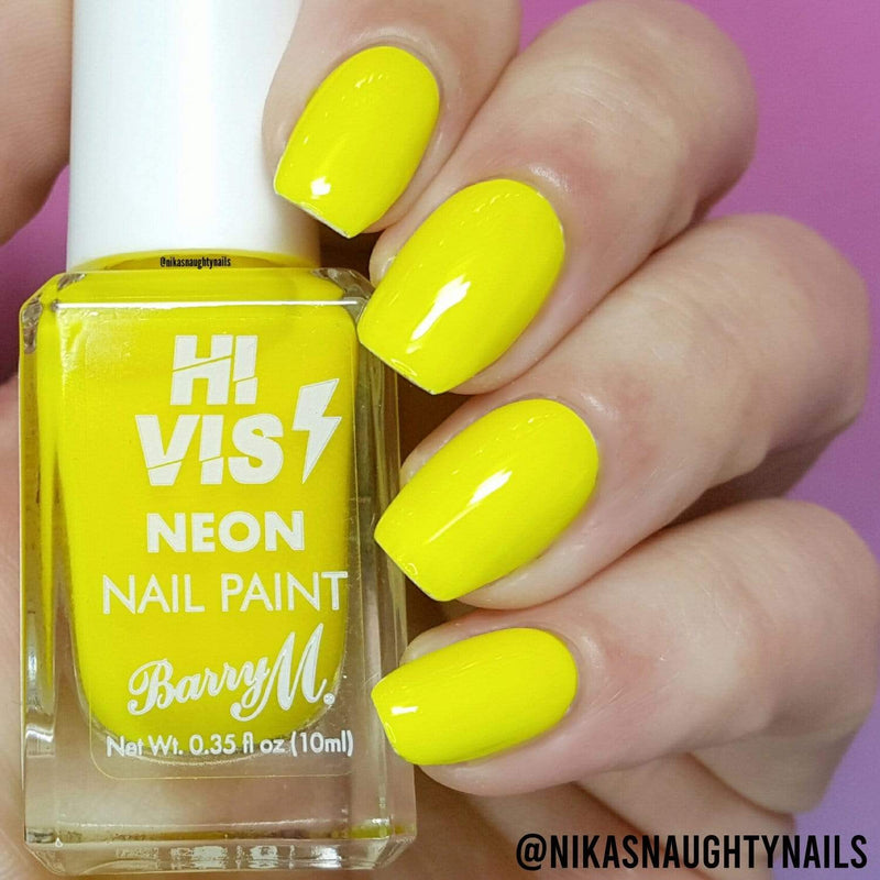 Hi Vis Neon Nail Paint | Yellow Flash, Nail Paint,HVNP5