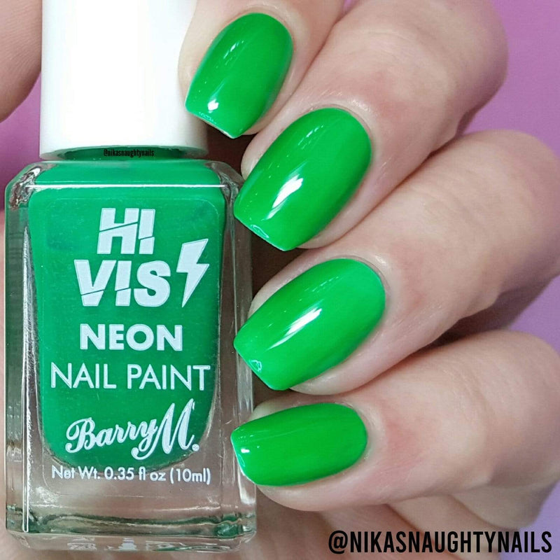 Hi Vis Neon Nail Paint | Green Light, Nail Paint,HVNP6