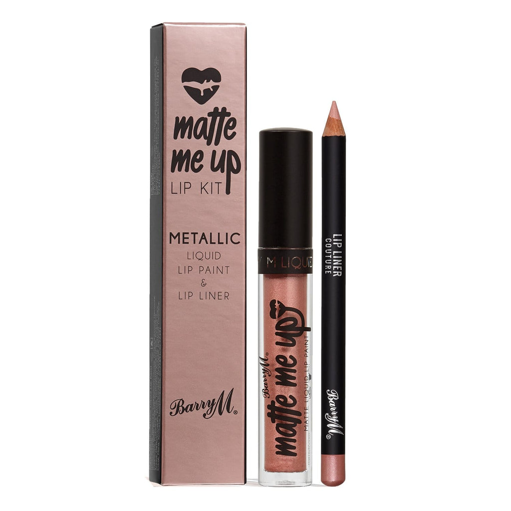 Matte Me Up Metallic Lip Kit | Couture