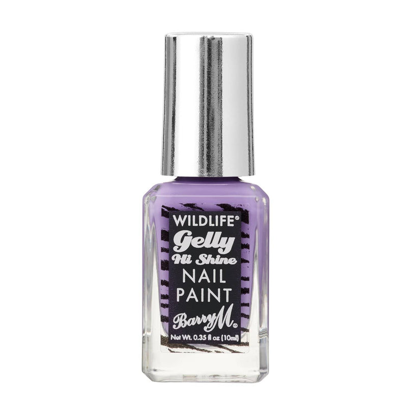 WILDLIFE® Gelly Hi Shine Nail Paint | Native Purple, Nail Paint,WLNP1