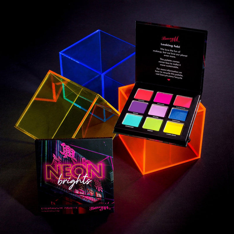 Barry M Neon Brights Eyeshadow Palette