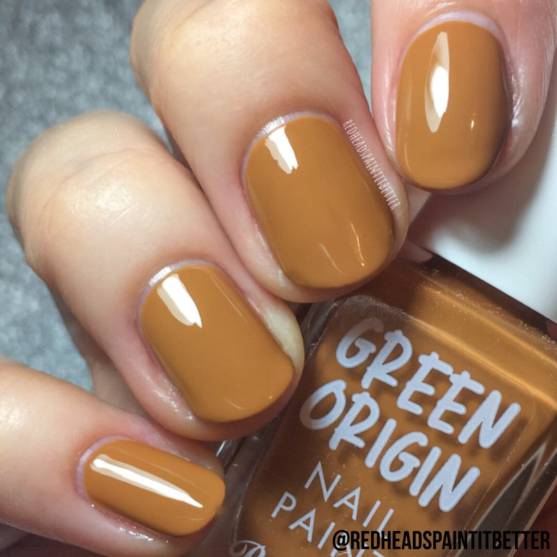 Green Origin Nail Paint | Butterscotch
