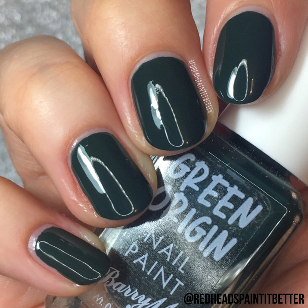 Green Origin Nail Paint | Evergreen, Nail Paint,GONP8