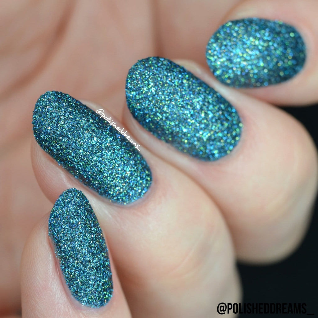 Crystal Rock Textured Nail Paint | Fluorite