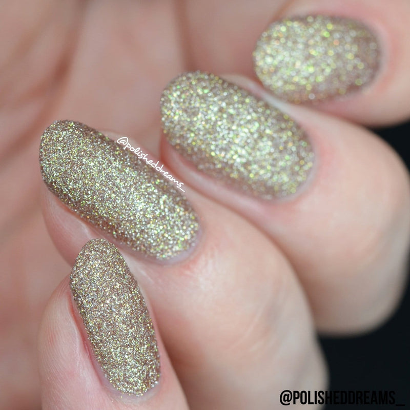 Crystal Rock Textured Nail Paint | Tiger Eye